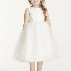 Brand New David's Bridal Flower Girl Dress